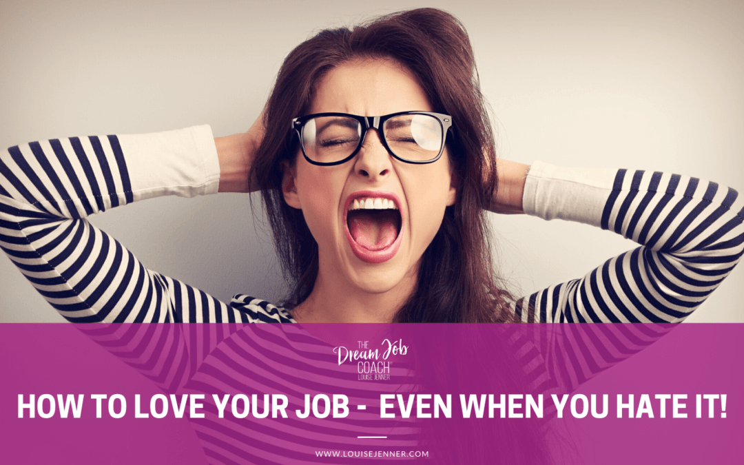How To Love Your Job – Even When You Hate It!